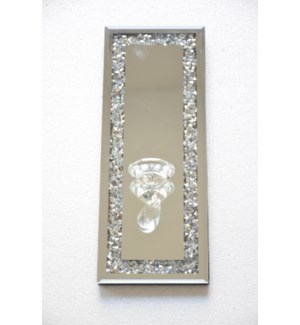 """WALL CANDLE HOLDER  6""""x16""""  - 8/BX"""