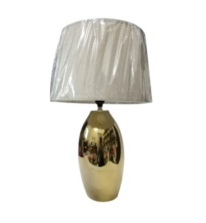 "CERAMIC LAMP WITH SHADE 14""+12"" --4/BOX"