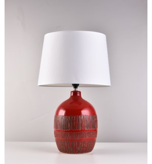 "22"" LAMP WITH SHADE -  4/BOX"