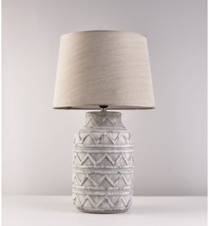 "23"" LAMP WITH  SHADE -  2/BOX"