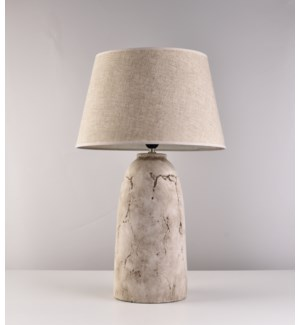 "25"" LAMP WITH SHADE -  2/BOX"