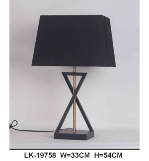 "TABLE LAMP - 21"" H - 6 / BOX"