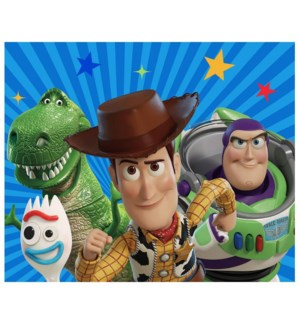"""DISNEY ROOM RUG / TOY STORY 4 THE GANG /  52""""X69"""" - 1PC"""