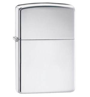 Slim High Polished Chrome Zippo