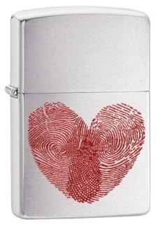 Heart Thumbprints Zippo