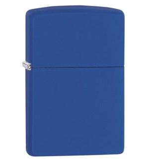 Royal Blue Matte Zippo