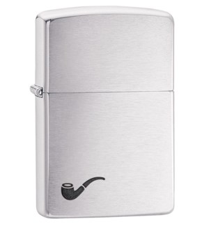 Brush Finish Pipe Zippo