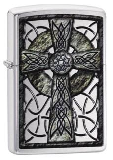 Celtic Cross Zippo