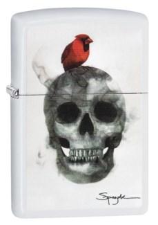 Bird with Grenade Zippo