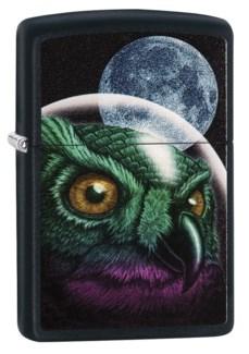 Space Owl Zippo