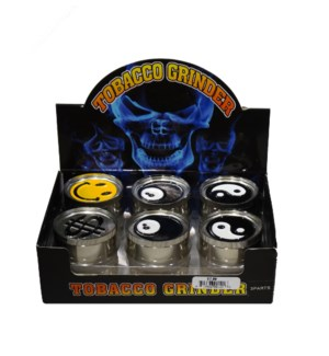 3 Part Tobacco Grinder