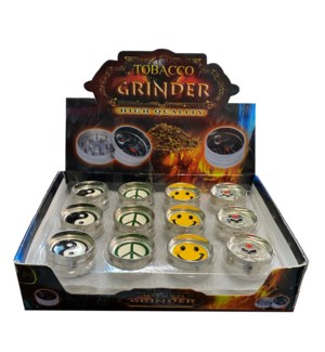 2 Part Tobacco Grinder