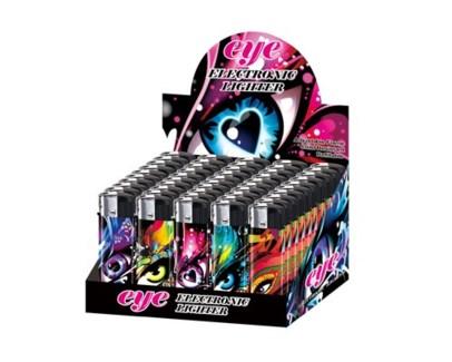 3D Eye Electronic Lighter