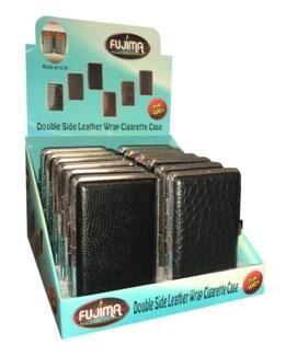 Dbl. Sided Metal Cigarette Case - King's