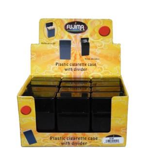 Plastic Cigarette Case W/Divider for Kings
