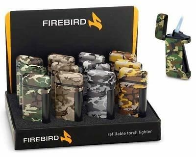 Firebird Sidwinder Camo Single Jet Lighter