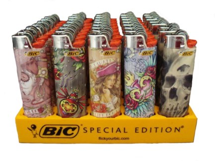 Bic Tattoo Lighter