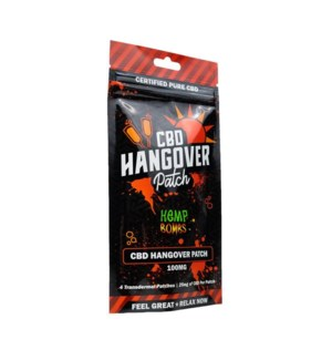 HempBombs CBD Hangover Patches