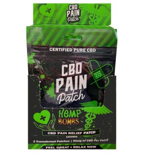 HempBombs CBD Pain Relief Patches