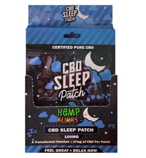 HempBombs CBD Sleep Patches