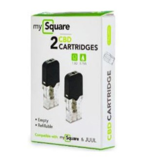 MySquare CBD Cartridge - 2 pk.