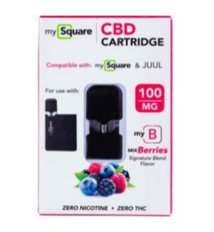 MySquare CBD Cartridge - Berry