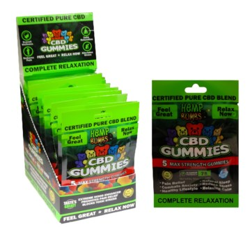 CBD Gummies - 5 Ct.