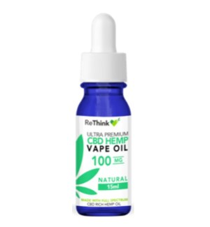 ReThink CBD Vape Oil - 100 mg