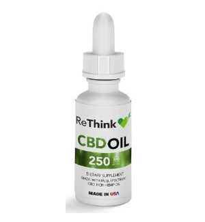 ReThink CBD Tincture Oil - 250mg