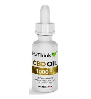 ReThink CBD Tincture Oil - 1000mg