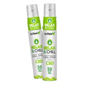 ReThink CBD Relax & Chill Oral Spray