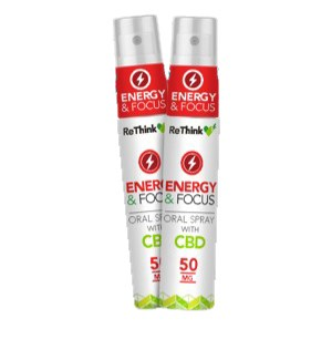 ReThink CBD Energy Oral Spray