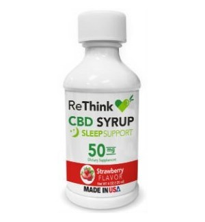 ReThink CBD Syrup - Strawberry