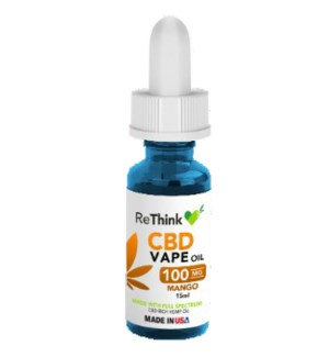 ReThink CBD Vape Oil - Mango / 100mg