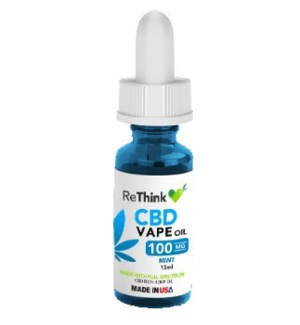 ReThink CBD Vape Oil - Mint / 100mg