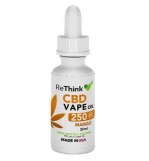 ReThink CBD Vape Oil - Mango / 250mg