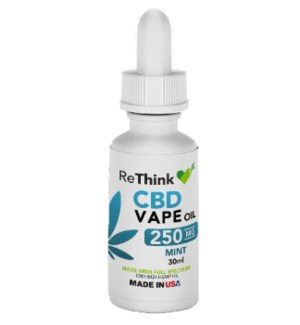 ReThink CBD Vape Oil - Mint / 250mg