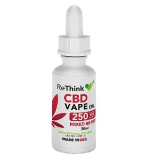 ReThink CBD Vape Oil - Berry / 250mg