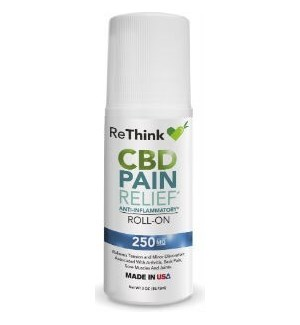 ReThink CBD Pain Relief Roll On - 250mg