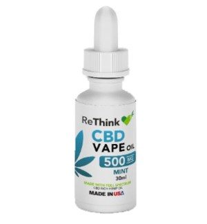 ReThink CBD Vape Oil - Mint / 500mg