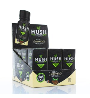 Hush Kratom Shot - Coffee Infused