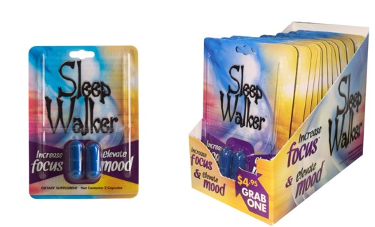 Sleep Walker Energy Pills