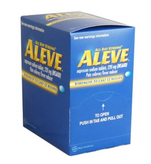 Box Aleve (25 pouches per box)