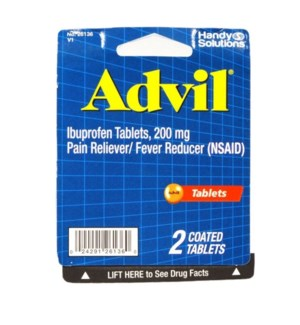 HS Advil - 2 Pack
