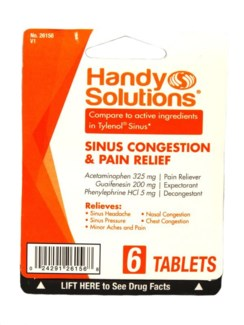 HS Sinus Congestion & Relief