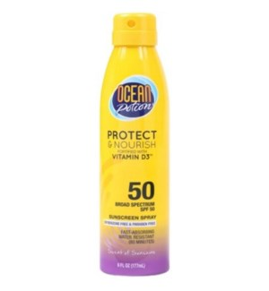 Ocean Potion 50 SPF Sunscreen Spray