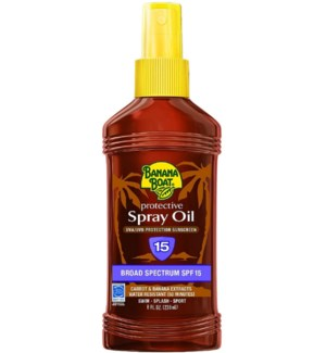 Banana Boat Spray Oil Sunscreen