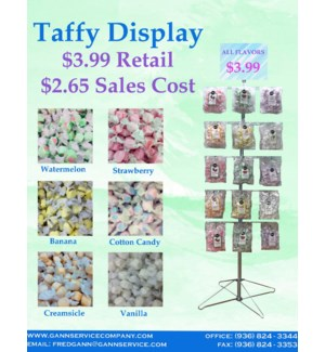 Taffy Display