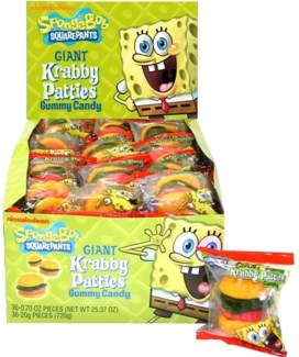 Giant Krabby Patties