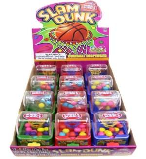 Slam Dunk Gumball Dispenser